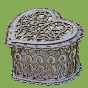 Деревянная коробка