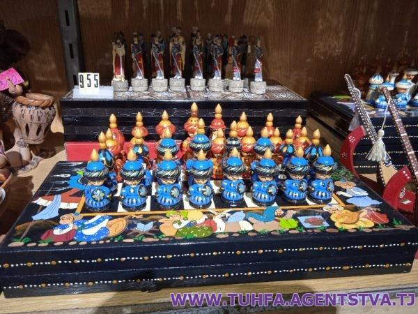 Сувенирные шахматы 01