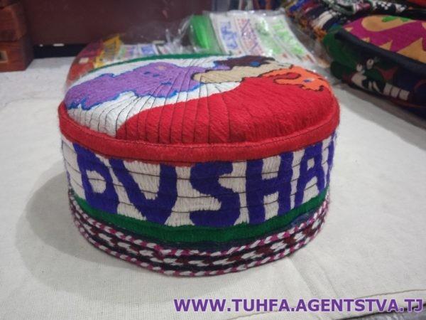 Таджикская тюбетейка - токи 01