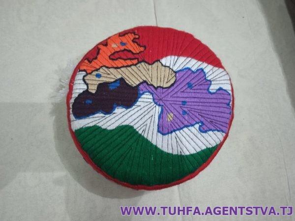 Таджикская тюбетейка - токи 02