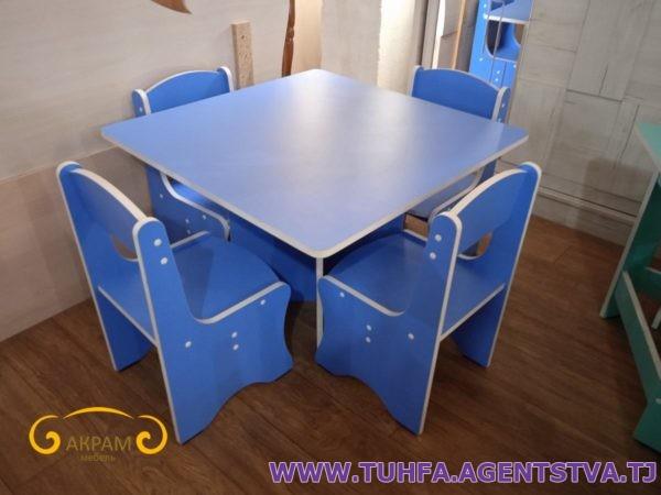 Детский стол со стульями