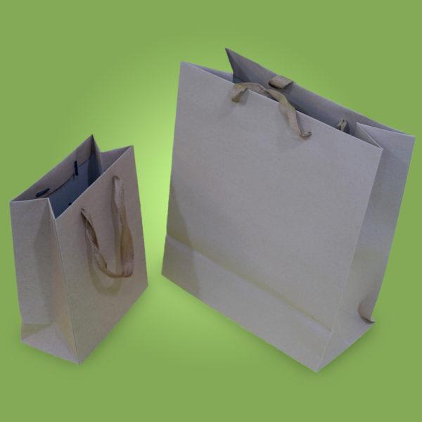 Серый пакет