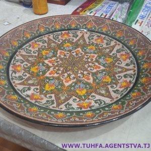 Декоративная тарелка - Ляган 01