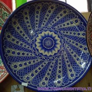 Декоративная тарелка - Ляган 02