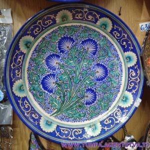 Декоративная тарелка - Ляган 03